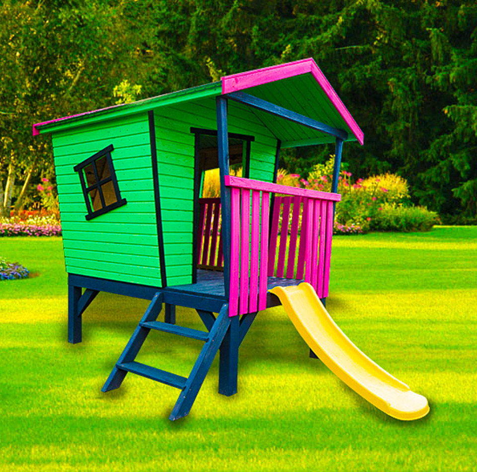Huśtawki i domki dla dzieci